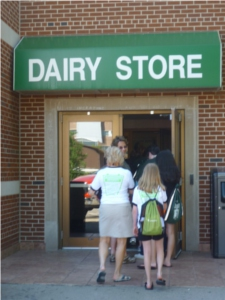 Dairy Store Entrance